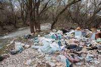 В Туле на берегу Тулицы обнаружен незаконный мусорный полигон, Фото: 36