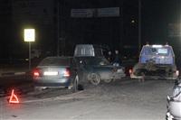 "На ул. Ложевой в Туле Volkswagen протаранил ""семерку"", Фото: 12"