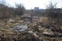 Туляк засыпал ручей, 12 колодцев и 4 канализационных люка, самовольно строя дорогу, Фото: 11