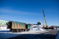 Огромный снеговик на Казанской набережной, Фото: 9