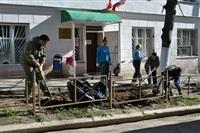 Субботник в Туле, Фото: 1