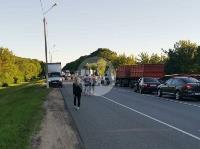 В Тульской области фура влетела в автобус: перекрыта трасса М-2, Фото: 11