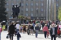 Празднование 69-й годовщины победы в Великой Отечественной войне на площади Победы. Тула, Фото: 103