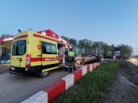 В Туле перевернувшаяся легковушка приземлилась у автомойки, Фото: 8