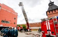 Учения МЧС в Тульском кремле, Фото: 49