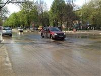 В центре Тулы хлещет вода, Фото: 9
