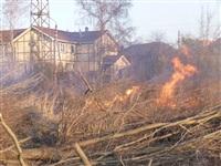 Возгорание сухой травы на ул.Комбайновая, Фото: 8