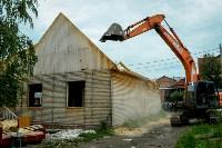 В Плеханово убирают незаконные строения, Фото: 67