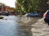Прорыв водопровода , Фото: 2