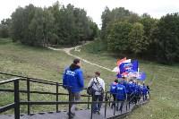 В «Партизанской деревне» высадили аллею плакучих ив, Фото: 12