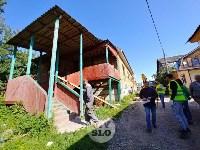 В Плеханово вновь сносят незаконные дома цыган, Фото: 18