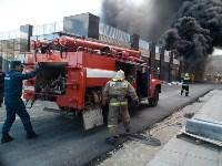 Загорелся недостроенный ТЦ на Красноармейском проспекте, Фото: 34
