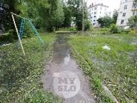 Дворы на Красноармейском проспекте затопило нечистотами, Фото: 16