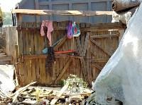 В Туле со двора «Плюшкиной» вывезли несколько грузовиков мусора, Фото: 14