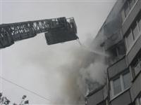 Курильщик поджег балкон своих соседей, Фото: 2