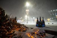В Туле ночью бушевал буран, Фото: 17