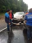 В Тульской области столкнулись две иномарки: есть пострадавшие, Фото: 10