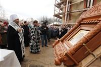Освящение креста купола Свято-Казанского храма, Фото: 17