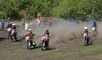 Юные мотоциклисты соревновались в мотокроссе в Новомосковске, Фото: 95