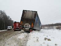 На Одоевском шоссе в Туле у водителя фуры отказало сердце, Фото: 7