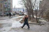 У дома, поврежденного взрывом в Ясногорске, демонтировали опасный угол стены, Фото: 2