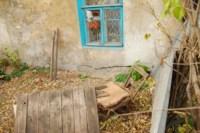 Стена под окном кухни. Теща ее уже пыталась сама заделывать трещину., Фото: 4