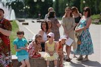 В Туле прошел флешмоб «Читающий парк», Фото: 12