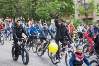 В Туле прошел большой велопарад, Фото: 85