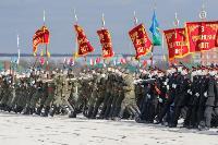 В Туле прошла первая репетиция парада Победы: фоторепортаж, Фото: 35