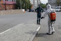 Тульские спасатели продезинфицировали автовокзал «Восточный», Фото: 26