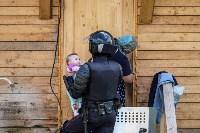Плеханово, итоги дня: В таборе принудительно снесли первые 10 домов, Фото: 23