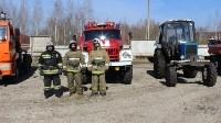 Лесной пожар: учения МЧС, Фото: 13