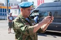 ветераны-десантники на день ВДВ в Туле, Фото: 2