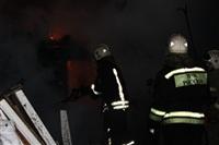 В Туле пожарные потушили сарай рядом с жилым домом, Фото: 3