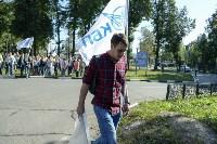 Субботник в Пролетарском округе Тулы, Фото: 56