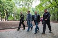 Андрианов в ледовом дворце и Рогожинском парке, Фото: 8