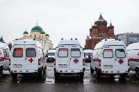 Алексей Дюмин передал региональному Центру медицины катастроф 39 новых автомобилей, Фото: 6