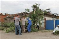 Последствия урагана в Ефремове., Фото: 45