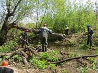 В Туле ведется расчистка Щегловского ручья от мусора, Фото: 4