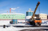 Огромный снеговик на Казанской набережной, Фото: 6