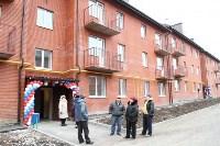Губернатор Владимир Груздев вручил ключи от квартир новоселам в Узловском районе, Фото: 13