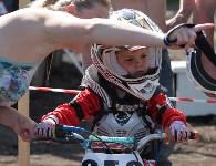 Юные мотоциклисты соревновались в мотокроссе в Новомосковске, Фото: 10