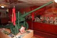 Учащиеся Волхонщинской средней школы показали Алексею Дюмину школьный музей боевой славы, Фото: 11