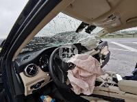 В серьезном ДТП на М-2 в Туле пострадали три человека, Фото: 15