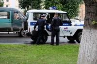 """Задержание водителя """"Ягуара"""" в центре Тулы, Фото: 1"""