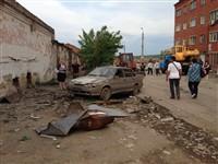 Центр Ефремова похож на место теракта, Фото: 2
