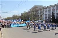 Тульская Федерация профсоюзов провела митинг и первомайское шествие. 1.05.2014, Фото: 61