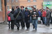 В ходе зачистки на Центральном рынке Тулы задержаны 350 человек, Фото: 11