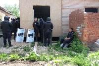 В Плеханово начали сносить дома в цыганском таборе, Фото: 122