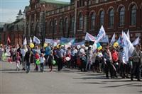 Тульская Федерация профсоюзов провела митинг и первомайское шествие. 1.05.2014, Фото: 26